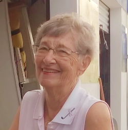 Jane Forbush, oldest sailor, recieves Honorary Membership